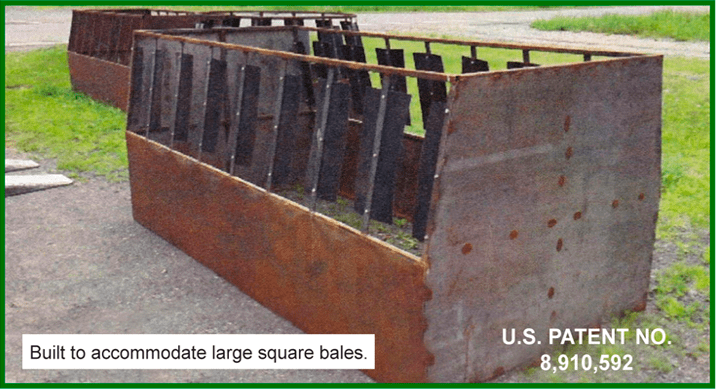 round s cradle hay feeder products bale cattle feeders